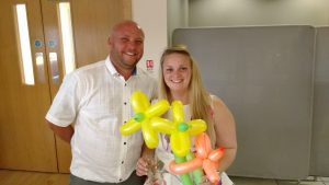 balloon modelling fun at your christening north east