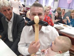 family fun at your christening celebration